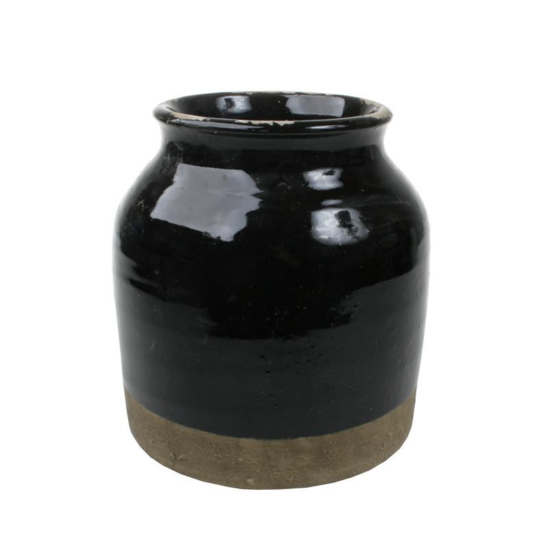 Cozy Room Sort Vase – pris 420.00