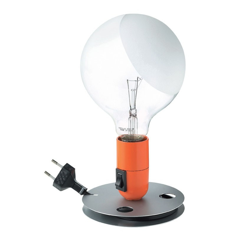 lampadina flos : flos lampadina dkk 695 00 farve sort orange antal se fragtpriser flos ...
