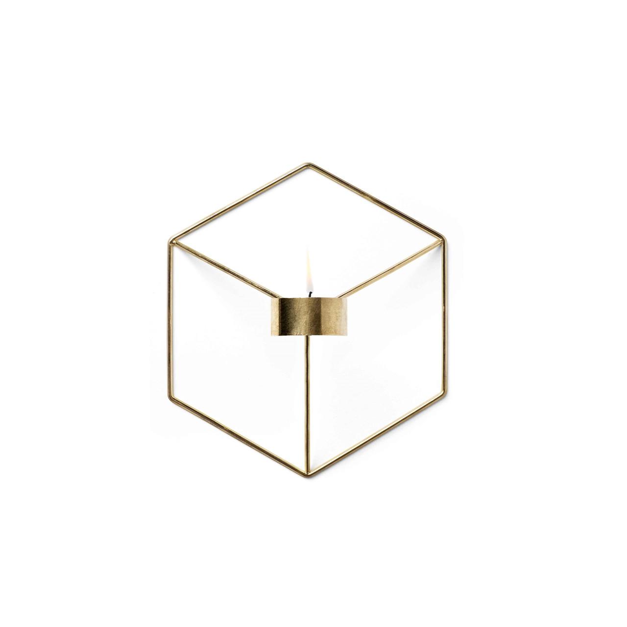Menu POV Candleholder Wall Brass – pris 349.00