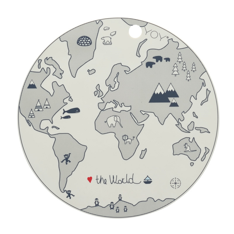 OYOY The World Placemat – pris 100.00