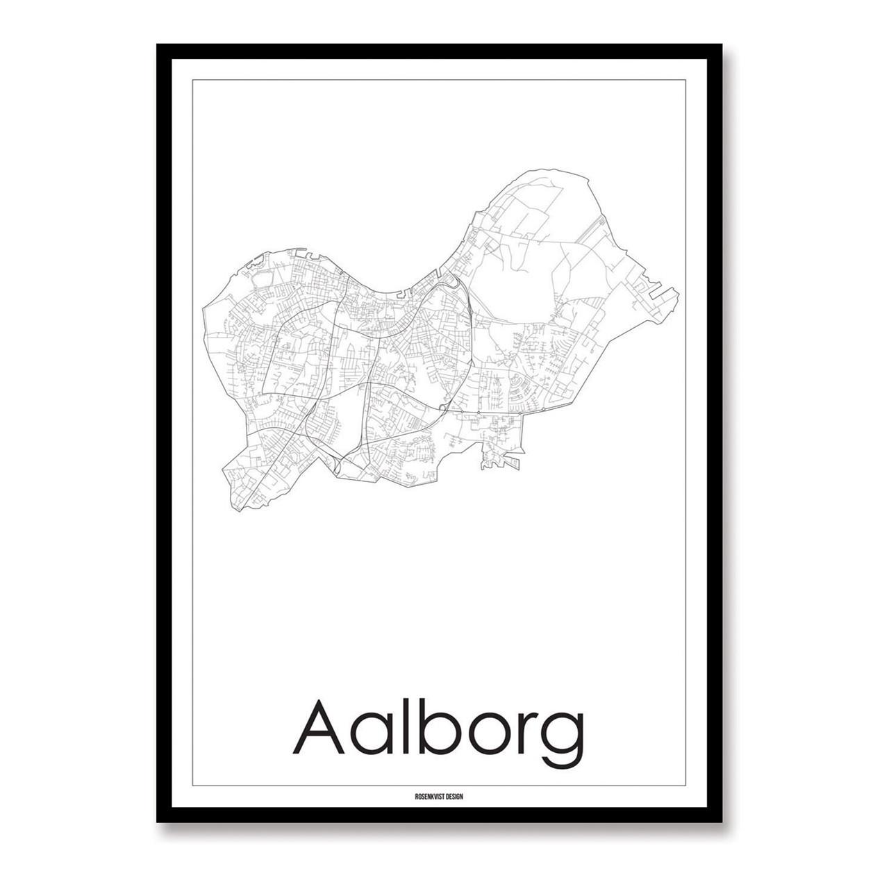 Rosenkvist Design Aalborg Plakat – pris 299.00