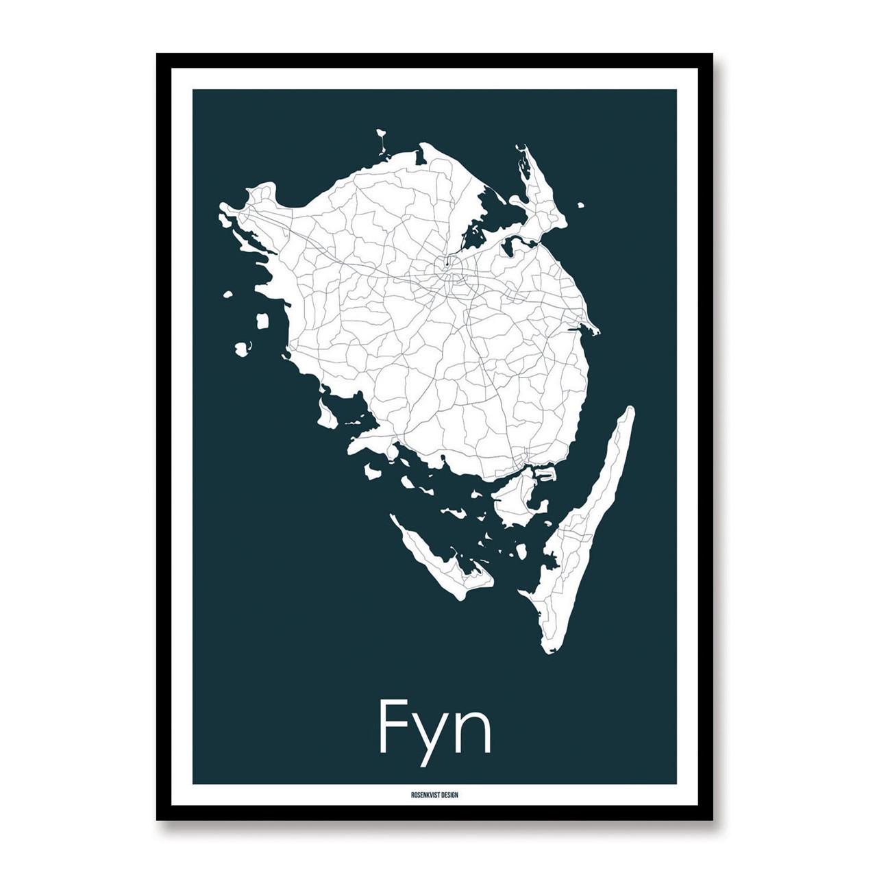 Rosenkvist Design Fyn Plakat – pris 299.00