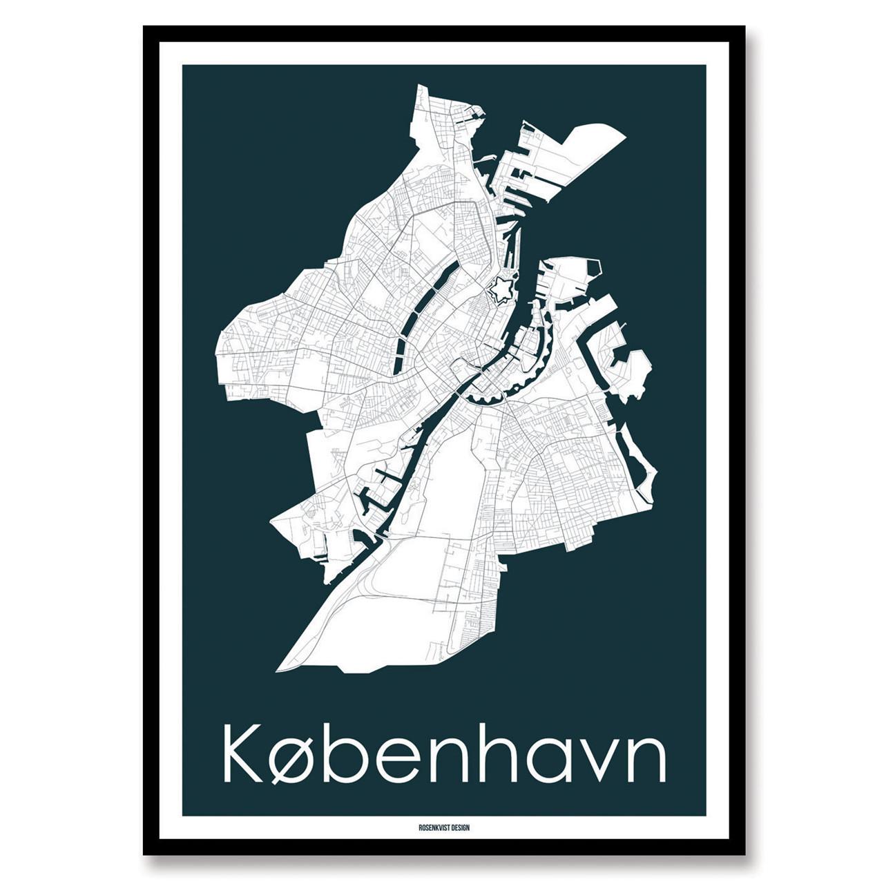 Rosenkvist Design København Plakat – pris 299.00