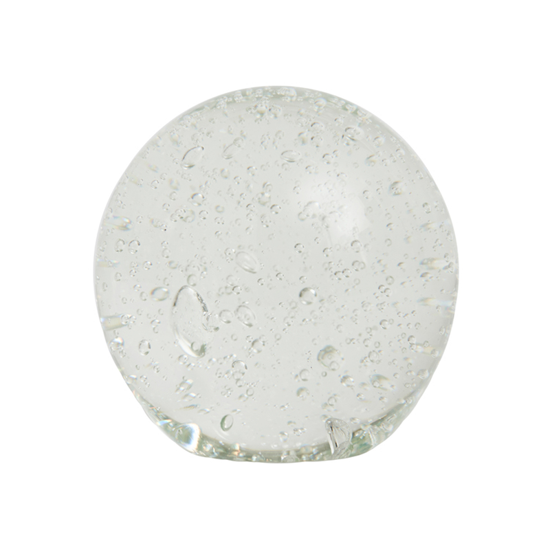 OYOY Bubble Glass Paperpress Clear – pris 199.00