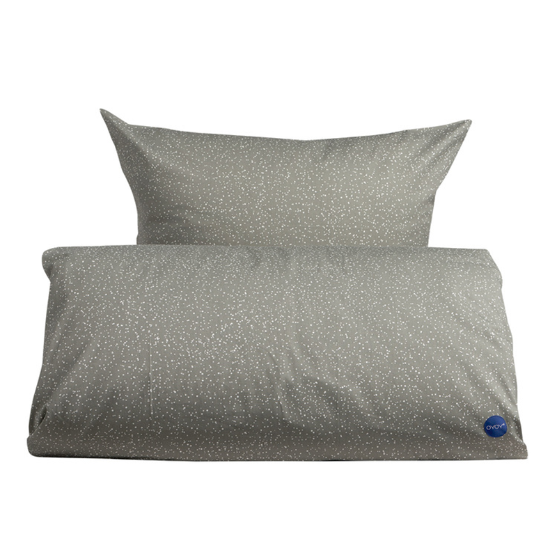 OYOY Starry Bedding Elephant Grey – pris 300.00
