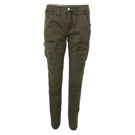 MOS MOSH CARGO BUKSER - LAURA HUNTER GREEN
