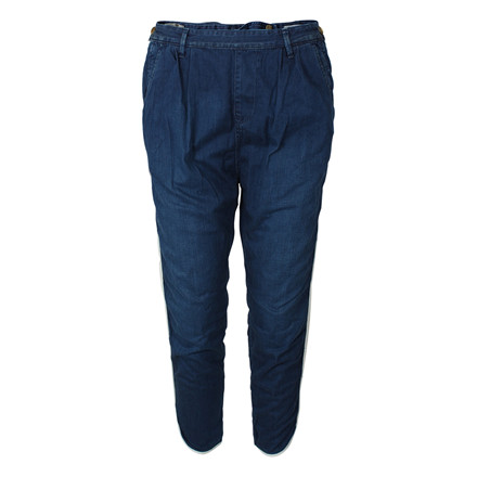 MAISON SCOTCH BUKSER - 85798 PIRATE PANT BLÅ