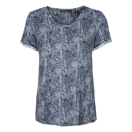 MAISON SCOTCH T-SHIRT - 51636 BLÅ