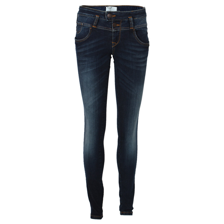 PULZ JEANS - P93739A ANNET SKINNY BLÅ