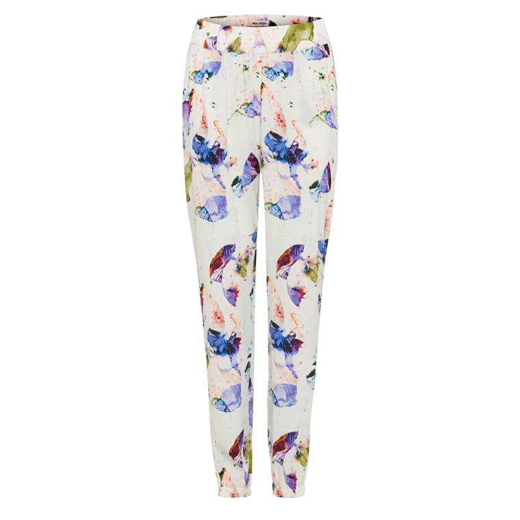 MOS MOSH BUKSER - CASEY ORCHID PANTS OFFWHITE