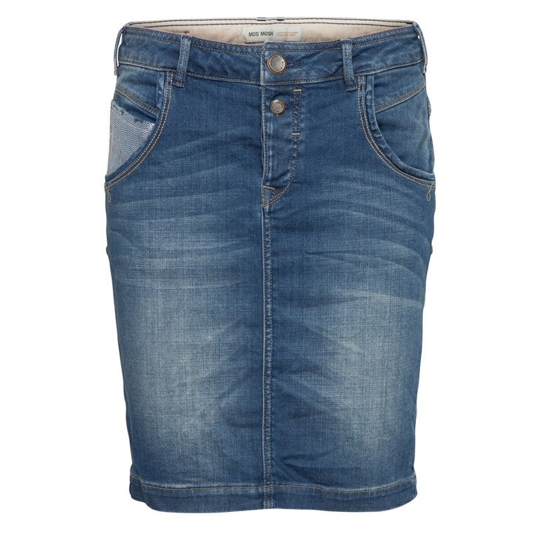 MOS MOSH NEDERDEL - JAIME LIGHT BLUE DENIM