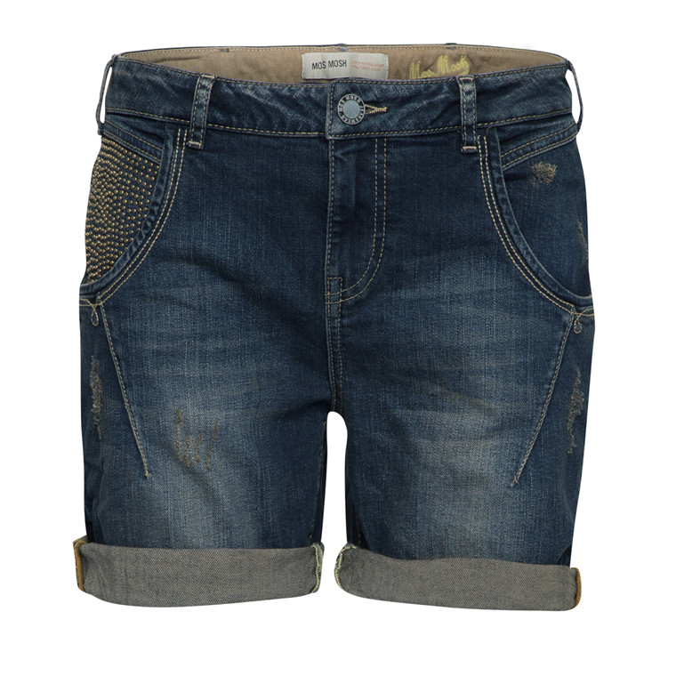 MOS MOSH SHORTS - LINTON BLUE DENIM
