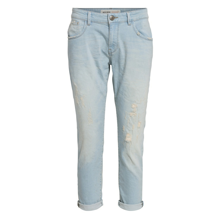 MOS MOSH JEANS - BRADFORD GIRLFRIEND BLEACH