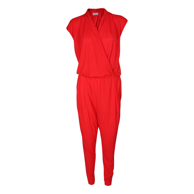 BY MALENE BIRGER JUMPSUIT - UMINNI RØD