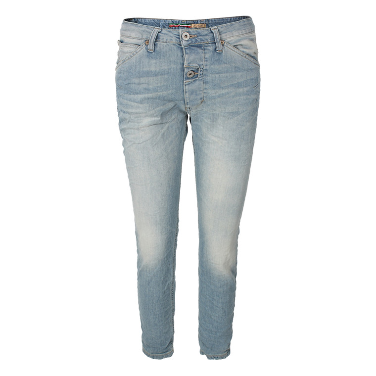 PLEASE JEANS - P06BDBQ2B ONE BOTTEN LYS BLÅ