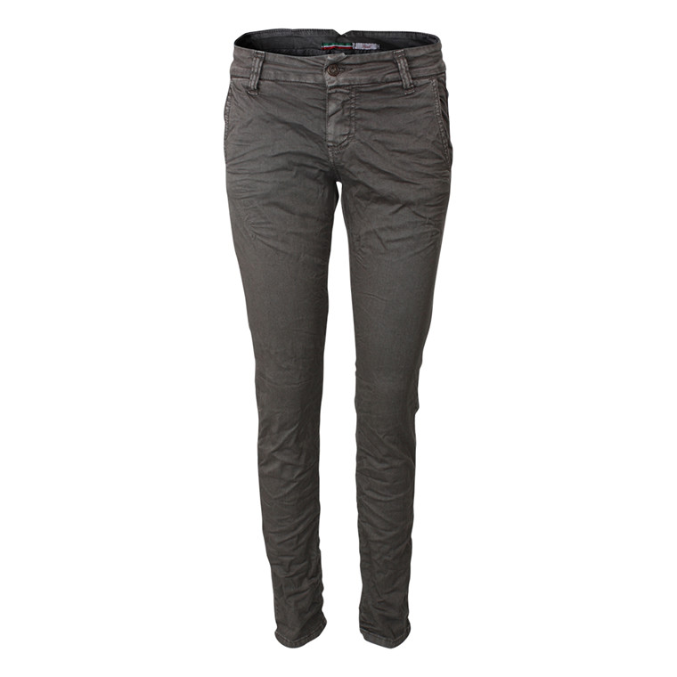 PLEASE BUKSER - P57EAV21 STREGHT LEG CHARCOAL