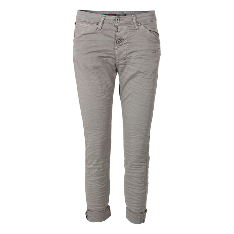 PLEASE JEANS - P06DAV24U ONE BOTTON GRÅ
