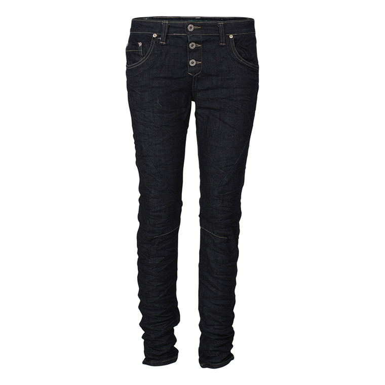 PLEASE JEANS - P82DBQ2LL SLIM DENIM MØRK BLÅ