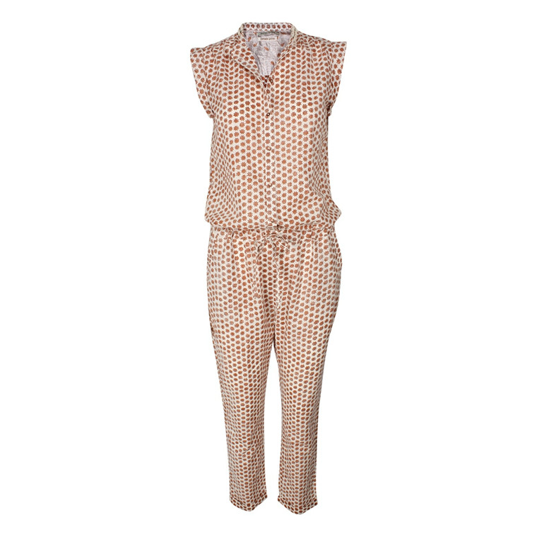 MAISON SCOTCH JUMPSUIT - 94704 CREME