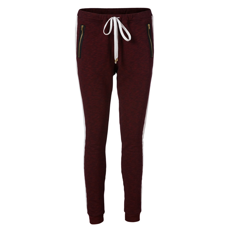 LOLLYS LAUNDRY BUKSER - IZZY PANTS BORDEAUX