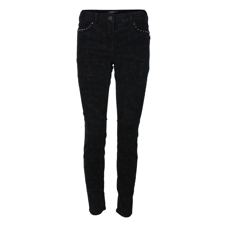 MAISON SCOTCH BUKSER - 80892 FLØJL SORT