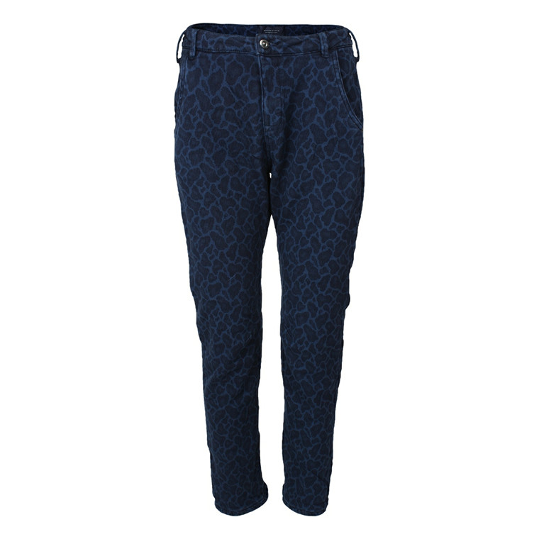 MAISON SCOTCH BUKSER - 85655 INDIGO STATE OF MIND BLÅ