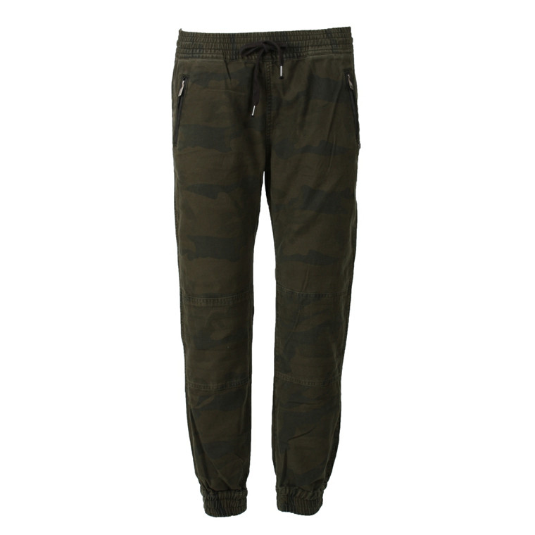 MAISON SCOTCH BUKSER - 83818 ARMY INSPIRED JOGGER