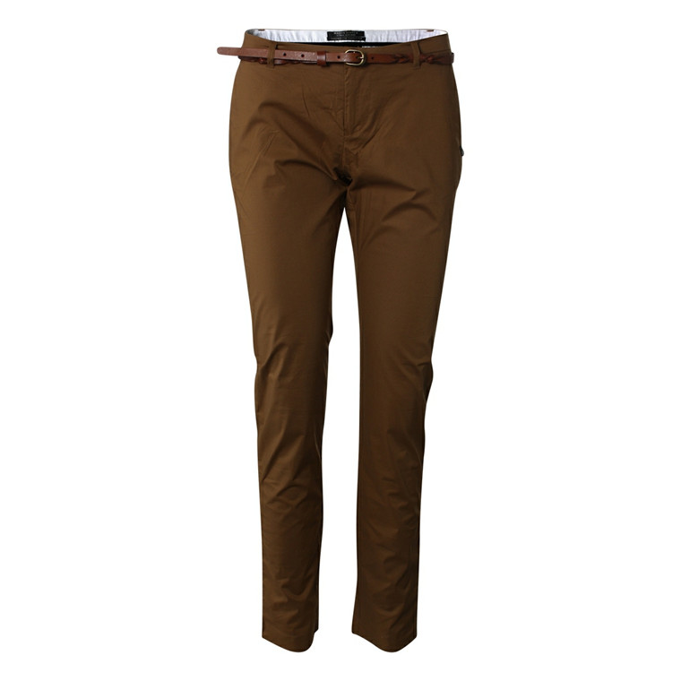 MAISON SCOTCH CHINOS - 80721 CLEAN CAMEL