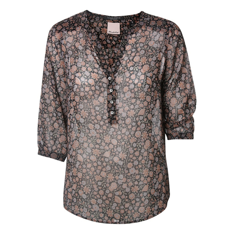 MAISON SCOTCH SKJORTEBLUSE - 53701