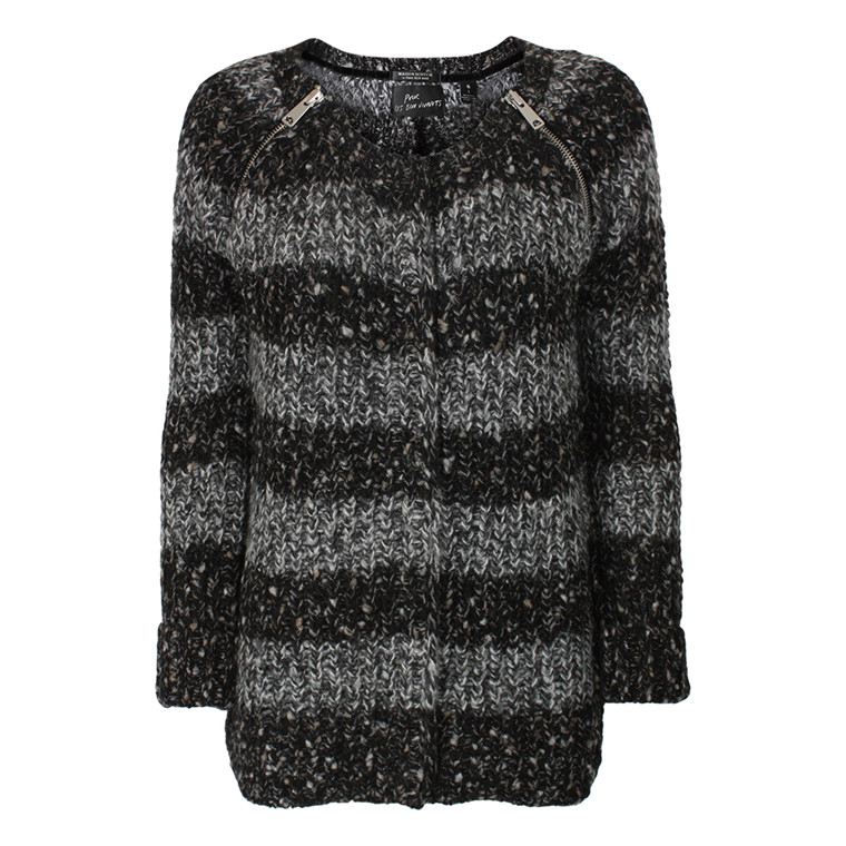 MAISON SCOTCH CARDIGAN - 60841 GRÅ