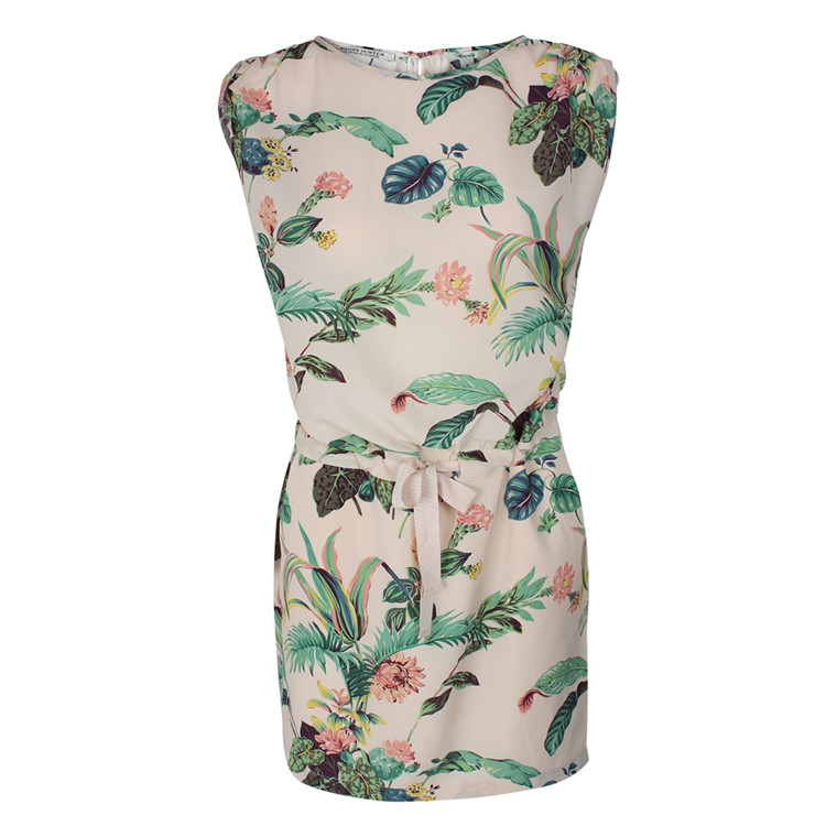 MAISON SCOTCH KJOLE - 88705 BOTANICAL MØNSTRET