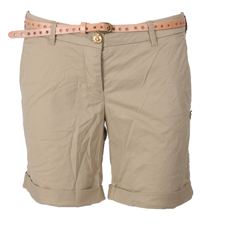 MAISON SCOTCH SHORTS - 81899 BOYFRIEND SAND