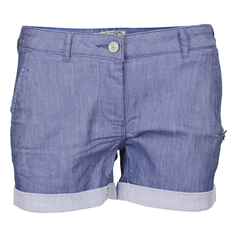 MAISON SCOTCH SHORTS - 81837 BLÅ