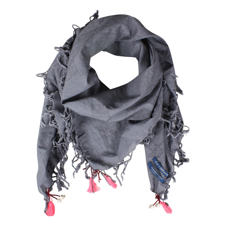 MAISON SCOTCH - 70738 LIGHT SUMMERY SCARF GRÅ