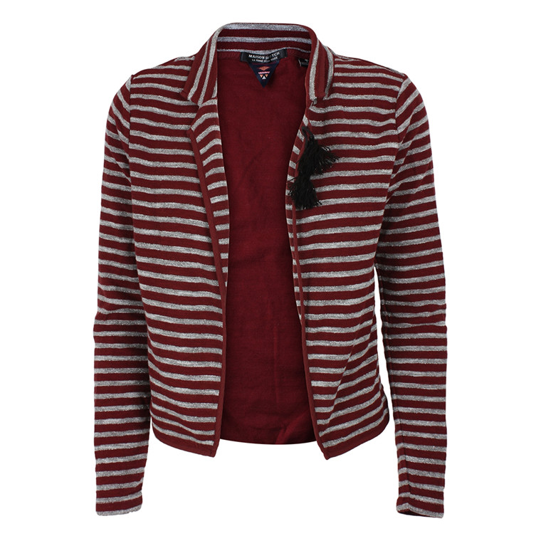 MAISON SCOTCH JERSEYBLAZER - 30820 STRIBET
