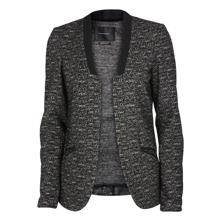 MAISON SCOTCH BLAZER - 30843 SORT