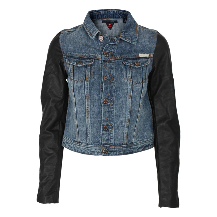 MAISON SCOTCH DENIMJAKKE - 10711 BLÅ