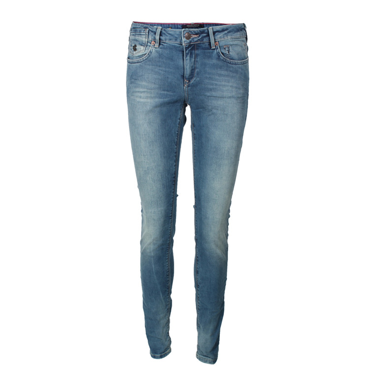 MAISON SCOTCH JEANS - 85718 PARISIENNE BRIGHT LIGHTS BLÅ