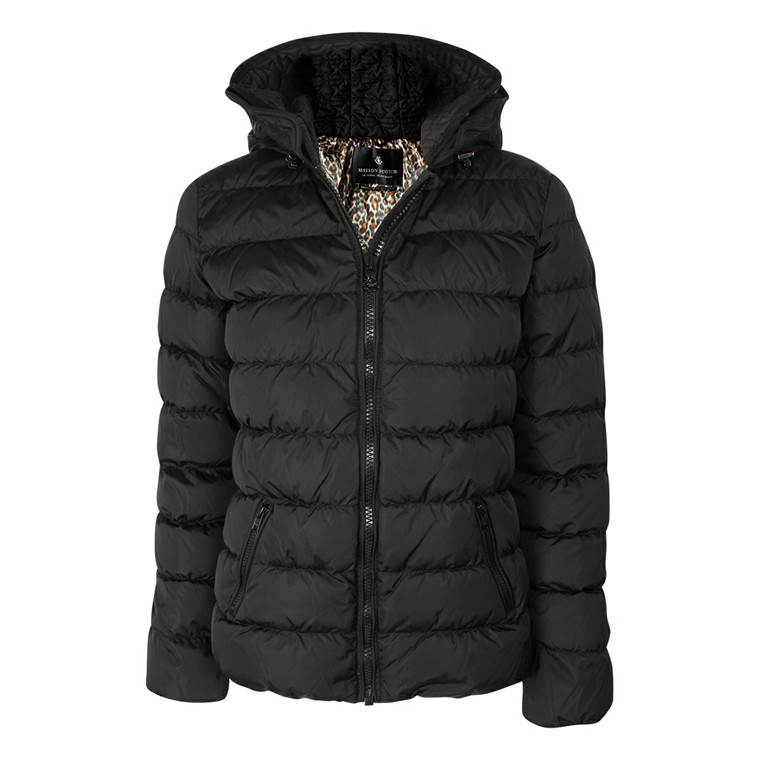 MAISON SCOTCH DUNJAKKE - 10722 SHORT DOWN JACKET SORT