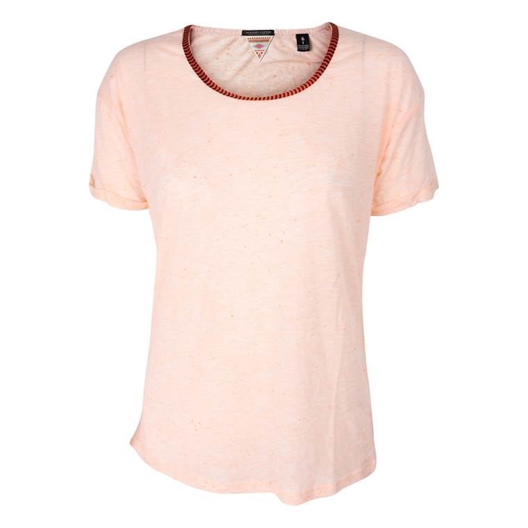 MAISON SCOTCH T-SHIRT - 51712 ORANGE