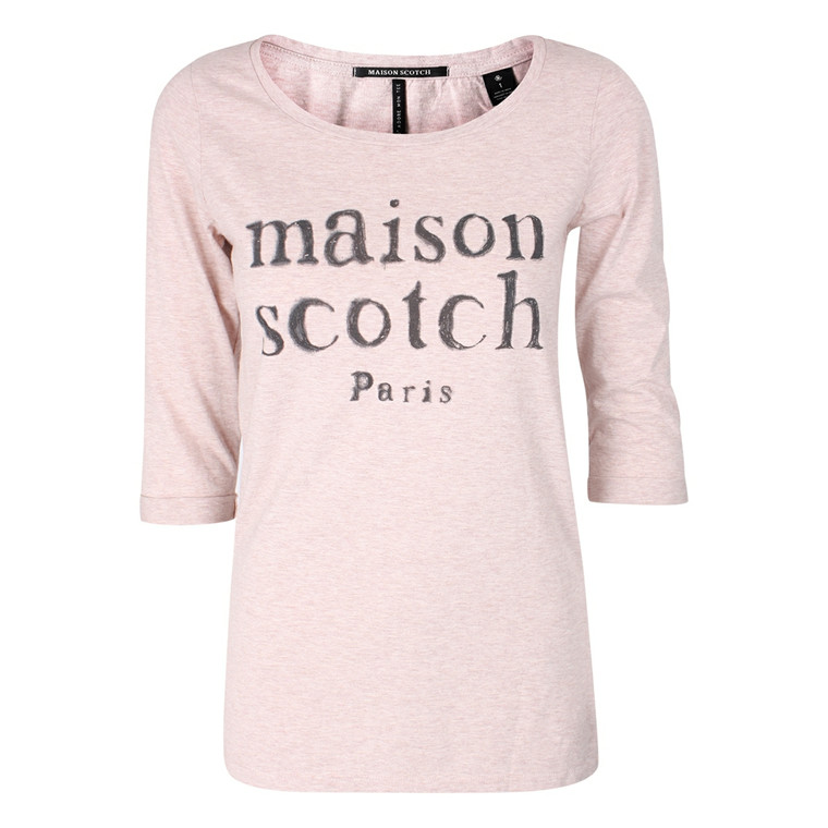 MAISON SCOTCH T-SHIRT - 50880 PUDDER