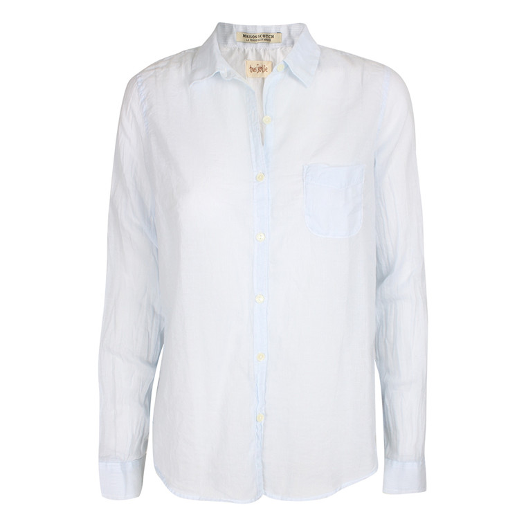 MAISON SCOTCH SKJORTE - 20773 STRIBET