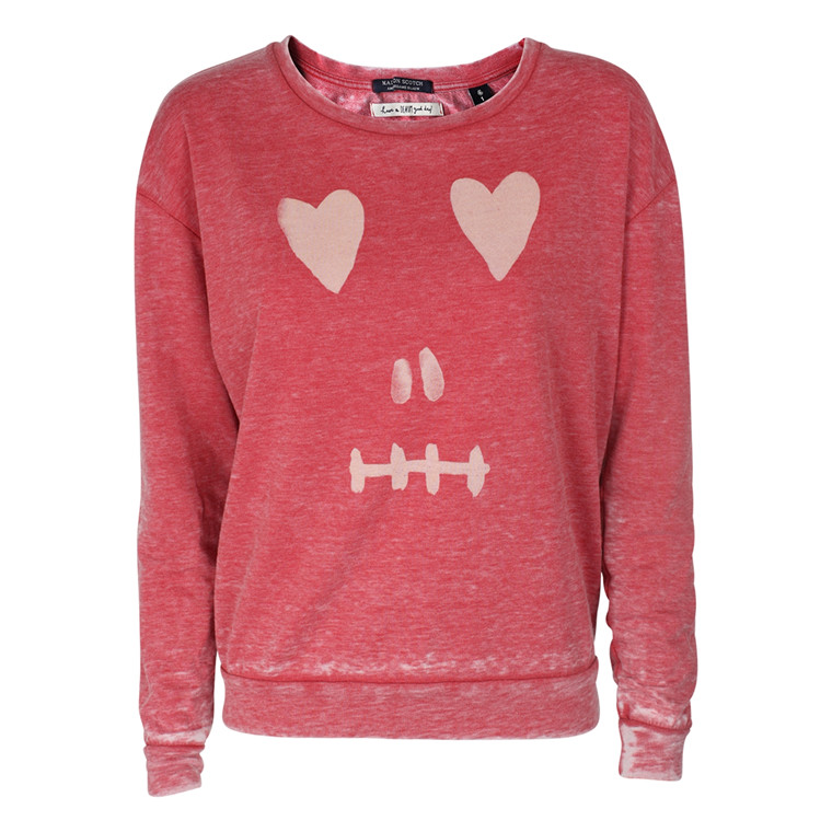 MAISON SCOTCH SWEATSHIRT - 40715 RØD