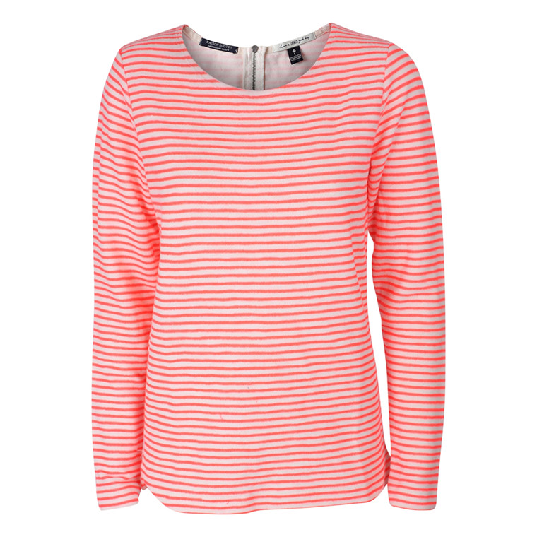 MAISON SCOTCH SWEATSHIRT - 40730 CORAL