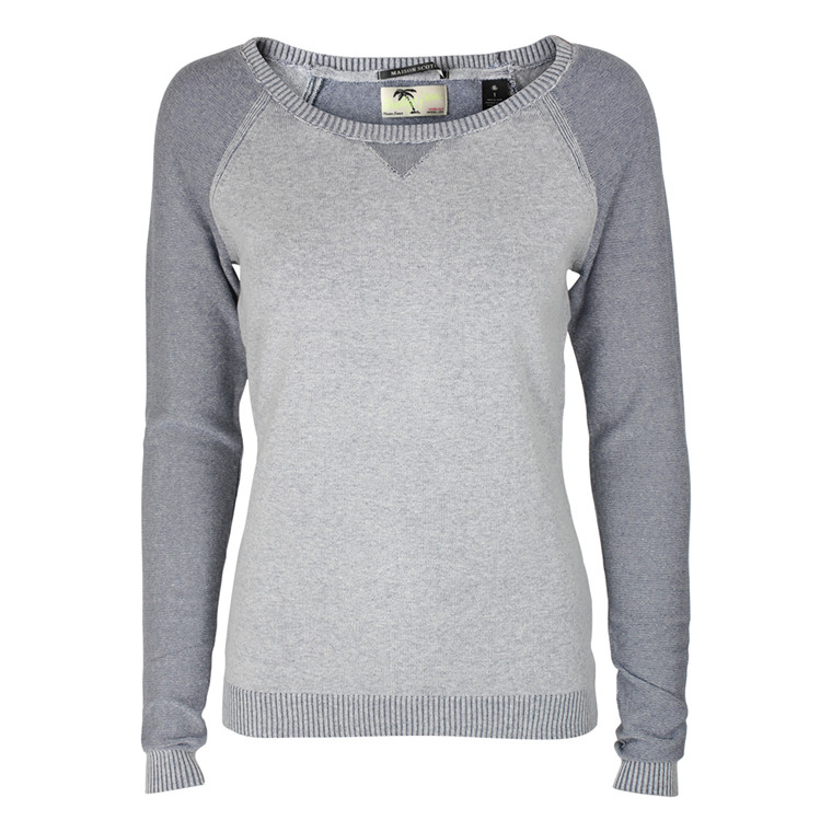 MAISON SCOTCH SWEATSHIRT - 60810 GRÅ