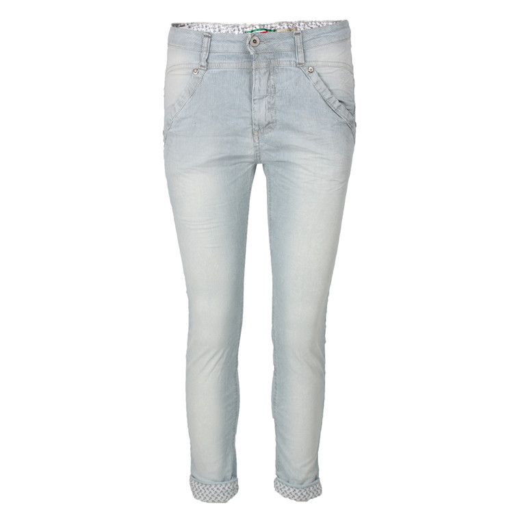 PLEASE JEANS - DP59DBZ STRIBET
