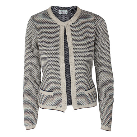 MAISON SCOTCH - 31741 CUTE KNITTED JACKET BLÅ
