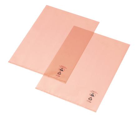 PERMASTAT® A4 plastlomme med 2 åbne sider - 'Chartek', 100 stk.