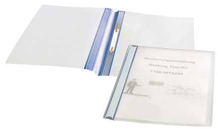 IDP-STAT® A4 Tilbudsmapper, blå/tranparant, 25 stk.