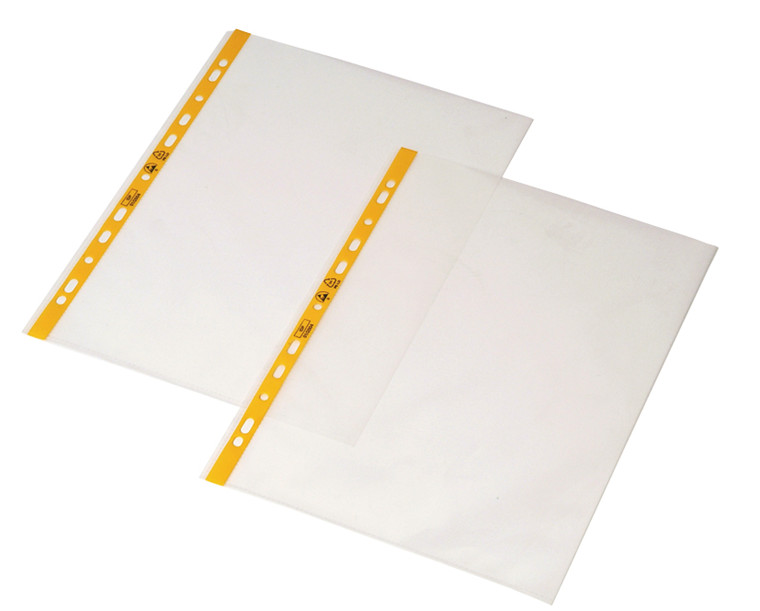 PERMASTAT® Transparent A4 plastlomme, 100 stk.